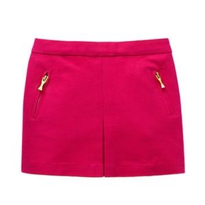 Kate Spade Sweetheart Pink zip Pocket Skirt 8Y NWT